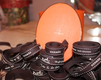 Authentic Hermes Ribbon various years and themes