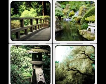 Zen Set - Ceramic Coasters