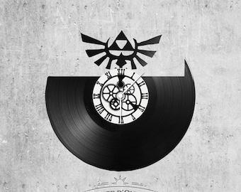 Vinyl 33 clock towers Logo Zelda theme