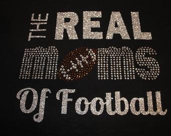 The Real Moms of Football Shirt, Football Mom Shirt, Football Shirt, Woman's Football Shirt, Football Tank, Real Football Moms Shirt