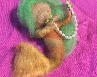 ooak needle felted brooch