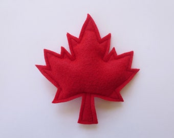 Cat toys Catnip Maple leaf Catnip toy for gift for cat lover organic catnip toy unique cat toy cute cat toy handmade felt cat toy Canada day