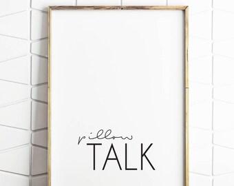 bedroom art, bedroom note, bedroom pillow talk, bedroom decor, bedroom download, bedroom wall art, bedroom wall print, bedroom instant art