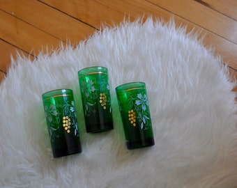 Three Green Glasses