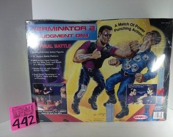 1992 Remco Terminator Rock 'em Sock 'em Robots