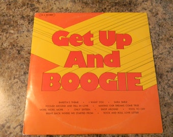 1976 Get Up and Boogie LP, Double Record Set, TEJ Records, vintage LP