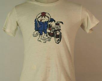 1960's Hanes Motorcycle shirt