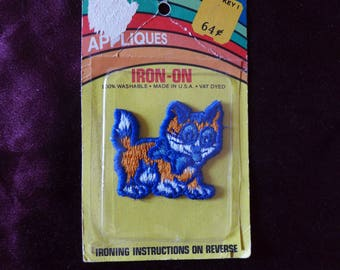 Vintage Kitten Cat Applique Patch