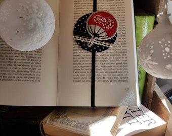 Large bookmark Japan fan