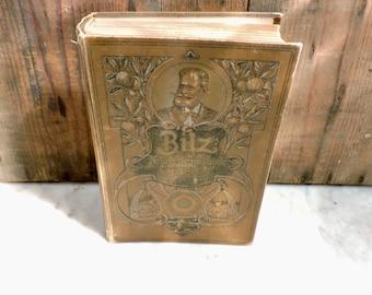 French Self Healing Book, Bilz, Nouvelle Méthode Pour Guerir Les Maladies, Volume 2 1898