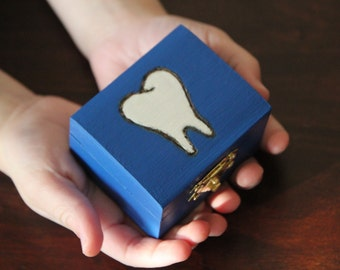 Tooth Fairy Box! Tooth fairy keepsake box, tooth storage, gift box