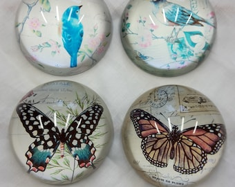 Bird or Butterfly Paperweights