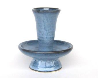 Ikebana Bud Vase - Pacifica Blue Glaze