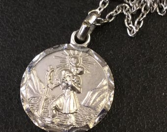 St Christopher on chain