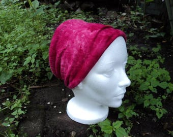 Headband extra wide color pink. Fashion accessory for girl or woman. hair accessory.