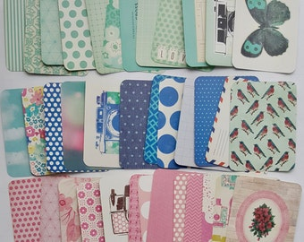 25 Planner Cards, Journal Cards, Project Life Cards, Becky Higgins Cards, 3x4 Cards, Core Kit - MAGGIE HOLMES EDITION