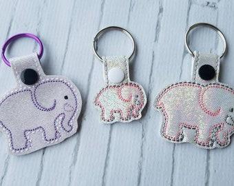 Ele the Elephant Keychain