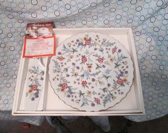 Collectable Andrea Sadek Porcelain Serving Plate