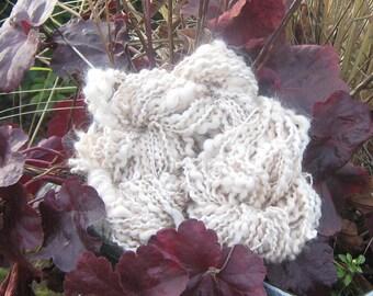 Angora Yarn Handspun Tortoiseshell 40-yds Art Yarn 2-Ply Thick Thin Knit Crochet Extremely Soft Hat Yarn Sock Trim Under 1-oz Knit Crochet