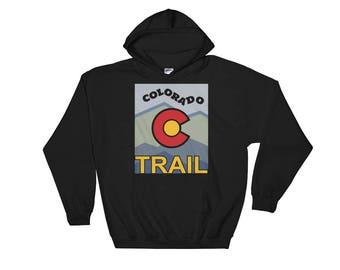 Colorado Trail Hiking Hooded Sweatshirt