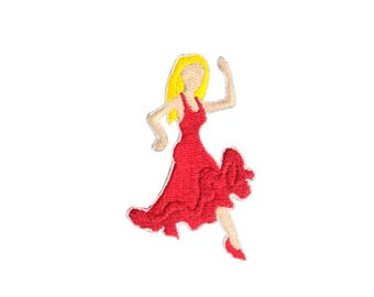 Dancing Meme Iron On Sew On Applique Embroidered Patch