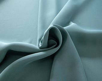 305098-Crepe marocaine Natural Silk 100%, wide 130/140 cm, made in Italy, dry cleaning, weight 215 gr, price 1 meter: 104.36 Euros