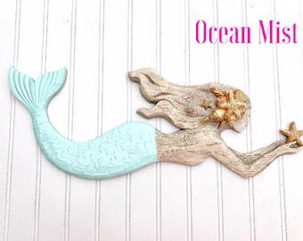 Mermaid Wall Decor - Beach Decor - Mermaid Bathroom - Nursery - Coastal - Beach House - Nautical - Mermaid Wall Art - Mermaids