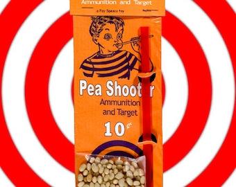 Retro Replica of a 1950's Pea Shooter