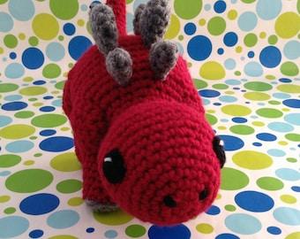 SnuggleMe Stegosaurus {Dinosaur} PDF Crochet Pattern