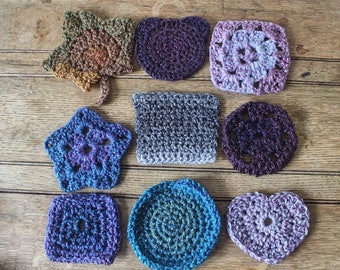 Hand Crocheted Coasters | Crochet Gift | Home Decor | Boho | For Her | New Home