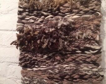Healing Touch / Woven Wall Hanging / Handmade Wall Art