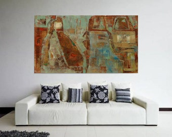 Minimalist Abstract Painting Contemporary Art Original Large Modern Painting oil painting original modern abstract art Wall Art commission