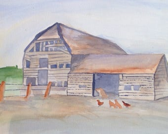Chicken barn