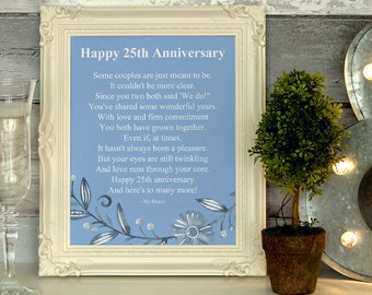Anniversary wishes etsy