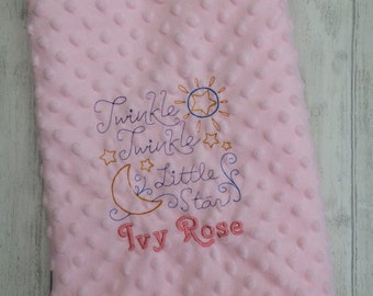Personalised Dimple Blanket