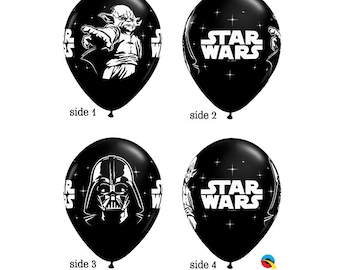 Star Wars Party, 10 The Force Awakens Balloons, Star Wars Movie Party, Star Wars Party Favors, Star Wars Party, Darth Vader, Yoda, Decor