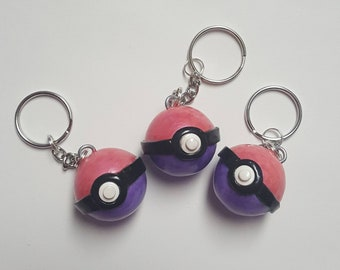 Polymer Clay Dream Pokeball Pokemon OOAK