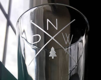 Pacific NorthWest Pint Glasses