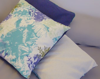 Colorful cushion plant pattern floral