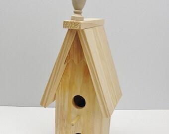 Birdhouse DIY unfinished