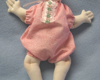 Baby's First Dolly - Cloth Doll E-Patterns 10 inch Baby Doll (Easy) epattern