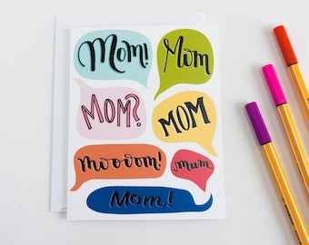 Funny Mothers Day Card, Funny Mothers Day Card, Funny Mom Card, Mother's Day Card, Mothers Day Card, Card for Mum, Card for Mom Birthday