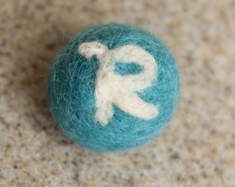 ADD ON: Needle Felted Initial