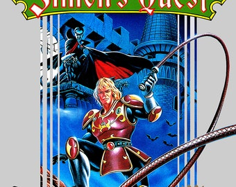 "Castlevania II Simon's Quest 18 x 24"" Video Game Poster"