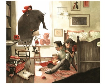 Print- Fable Family