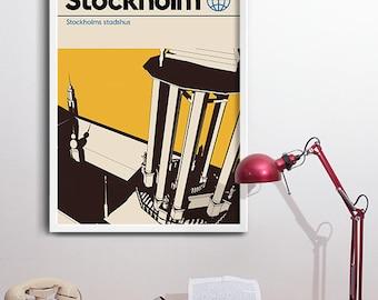 Stockholm Graphic Art Print