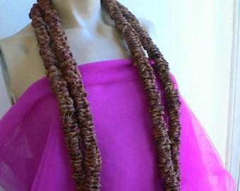 Vintage Aboriginal Seed pod necklace //Tribal Ethnographic Oceanian Australasian // indigenous body decoration