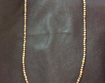 Men's Necklace in wood-Hermes