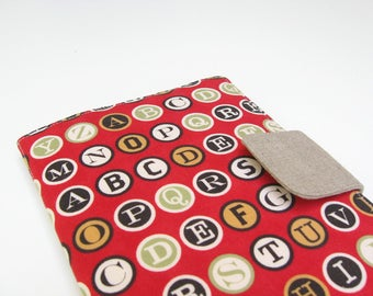 Writer Kindle Fire Cover, Original Kindle Fire Cover, Original Kindle Fire Case, Gift Under 20, Vintage Typewriter Keys, Typewriter Letters