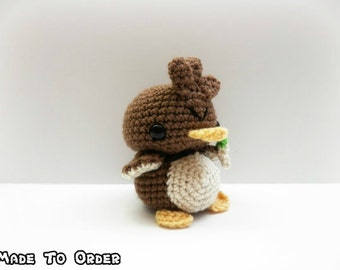 Crochet Farfetch'd Inspired Chibi Pokemon